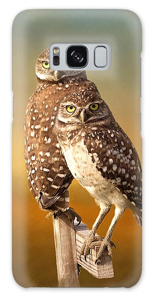 Owl Galaxy Case - Two Of Us by Kim Hojnacki