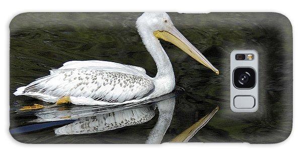 Two Pelicans Galaxy Case