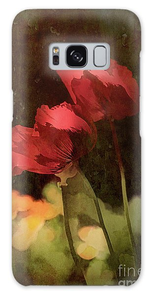 Two Poppies Galaxy Case