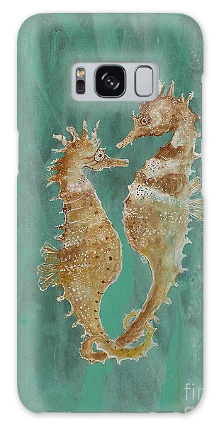 Two Seahorse Lovers Galaxy Case