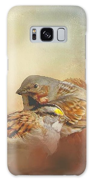 Sparrows In The Marsh 2 Galaxy Case