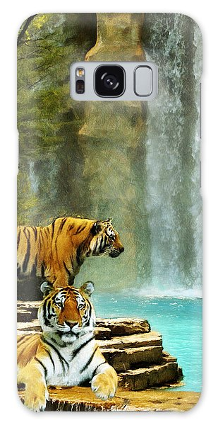 Two Tigers Galaxy Case