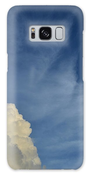 Two Tone Clouds 9384 Galaxy Case