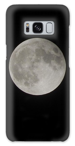 Two-tone Gray Moon Galaxy Case