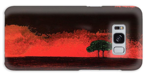 Two Trees In Tuscany Galaxy Case