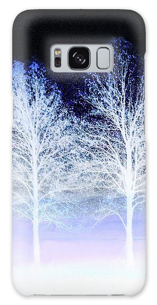 Two Trees In Winter Galaxy Case