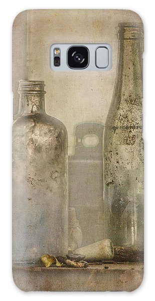 Two Vintage Bottles Galaxy Case