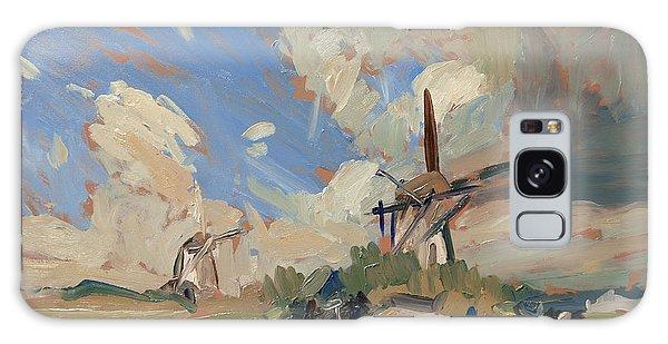 Two Windmills Galaxy Case
