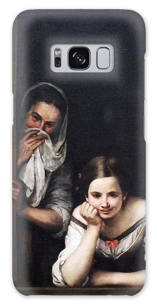 Two Women At Window Galaxy Case by Pg Reproductions