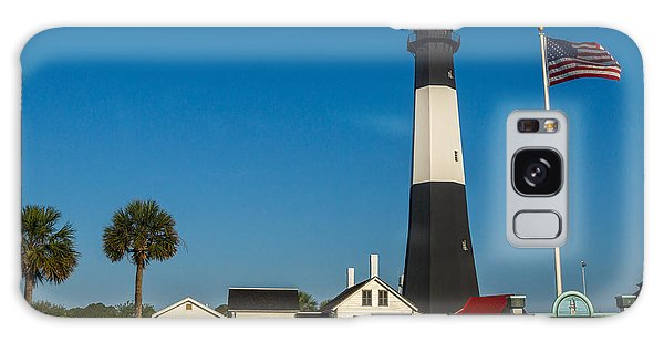 Galaxy Case featuring the photograph Tybee Island Lighthouse by Michael Sussman