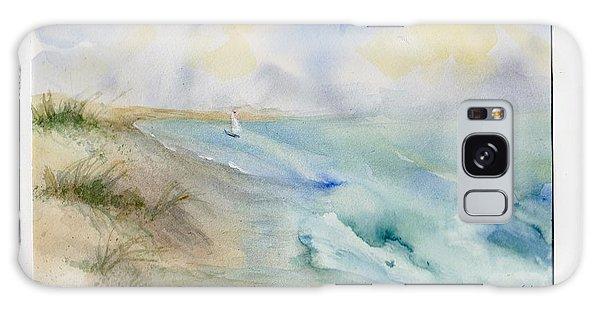Tybee Memory Galaxy Case by Doris Blessington
