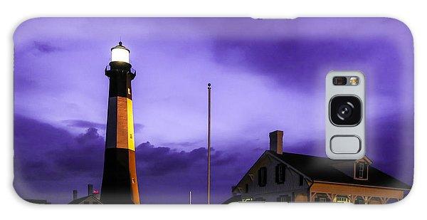 Tybee Purple Haze Galaxy Case by John Roberts