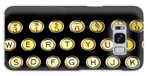 Typewriter Galaxy Case by Christopher Woods