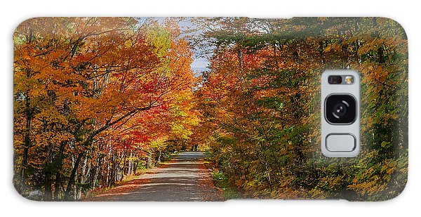 Typical Vermont Dirve - Fall Foliage Galaxy Case