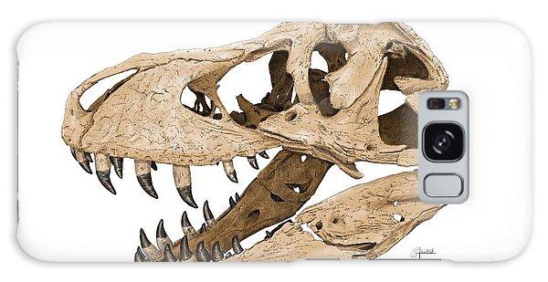 Tyrannosaurus Skull Galaxy Case