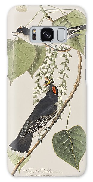 Flycatcher Galaxy Case - Tyrant Fly Catcher by John James Audubon