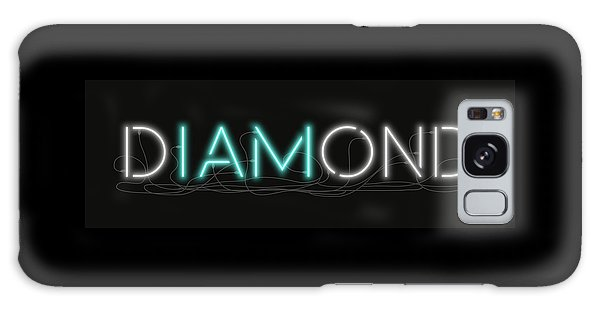 U Are Diamond - Neon Sign 1 Galaxy Case