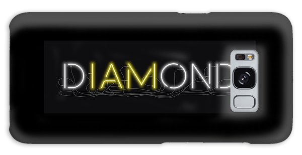U Are Diamond - Neon Sign 2 Galaxy Case