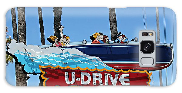 U-drive Boat Sign Galaxy Case