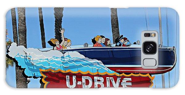 U-drive Boat Sign Galaxy Case