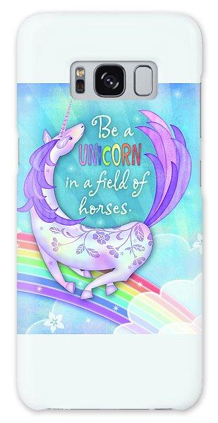 U Is For Unicorn Galaxy Case