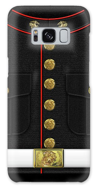 U S M C Dress Uniform Galaxy Case