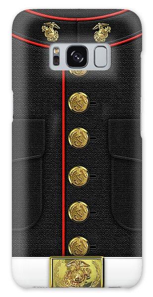 U S M C Dress Uniform Galaxy Case