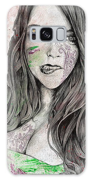 Beautiful Girl Galaxy Case - U-turn by Marco Paludet