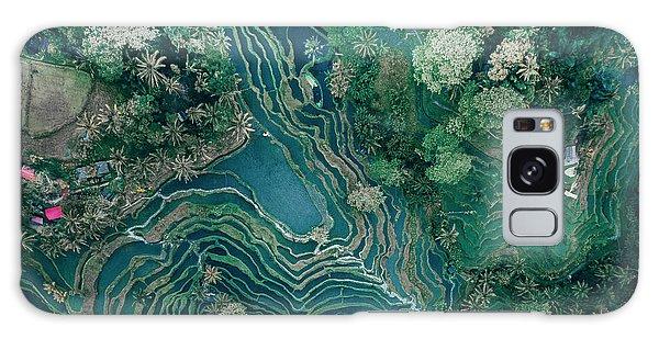 Ubud Rice Terrace Galaxy Case
