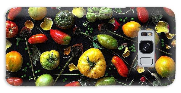 Heirloom Tomato Patterns Galaxy Case
