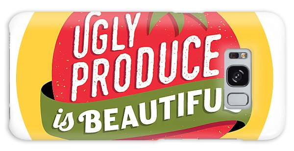 Ugly Produce Is Beautiful Galaxy Case