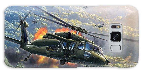 Helicopter Galaxy S8 Case - Uh-60 Blackhawk by Stu Shepherd