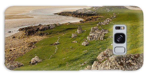 Uig Sands - Isle Of Lewis Galaxy Case