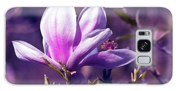 Ultra Violet Magnolia  Galaxy Case