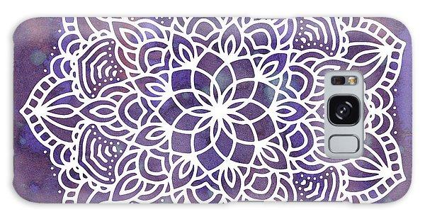 Ultraviolet Mandala Galaxy Case