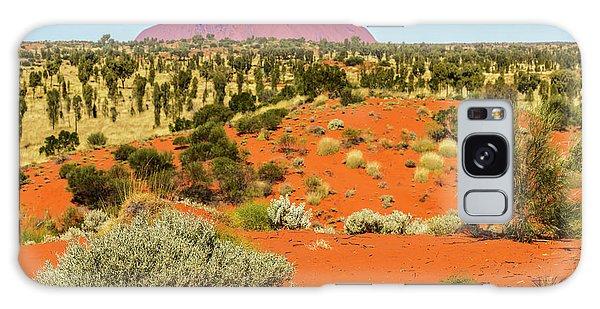 Galaxy Case featuring the photograph Uluru 01 by Werner Padarin
