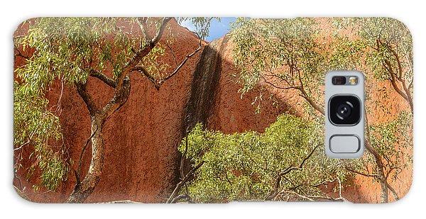 Galaxy Case featuring the photograph Uluru 02 by Werner Padarin
