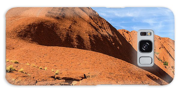 Galaxy Case featuring the photograph Uluru 04 by Werner Padarin