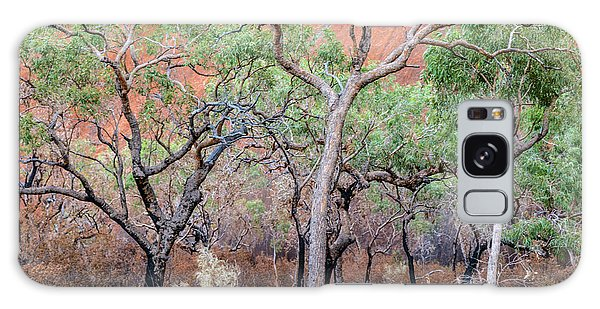 Galaxy Case featuring the photograph Uluru 05 by Werner Padarin