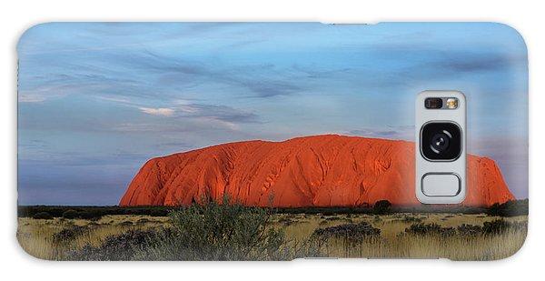 Uluru Sunset 03 Galaxy Case