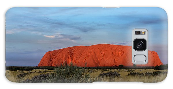 Uluru Sunset 03 Galaxy Case