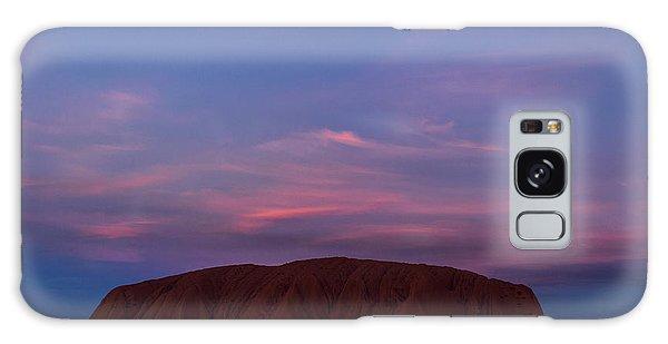 Galaxy Case featuring the photograph Uluru Sunset 04 by Werner Padarin