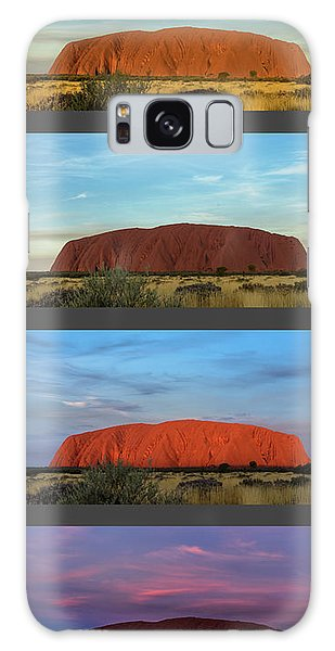 Galaxy Case featuring the photograph Uluru Sunset by Werner Padarin