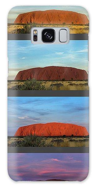 Uluru Sunset Galaxy Case