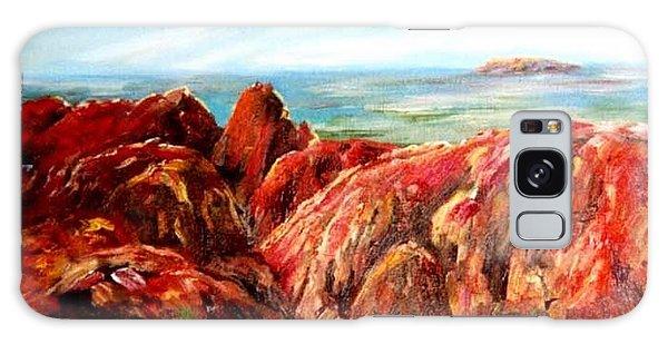 Uluru Viewed From Kata Tjuta Galaxy Case