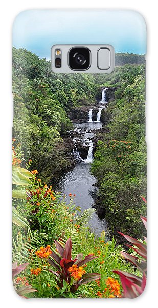 Umauma Falls Hawaii Galaxy Case