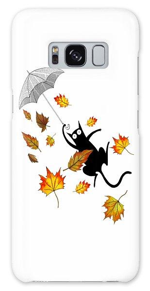 Breeze Galaxy Case - Umbrella by Andrew Hitchen