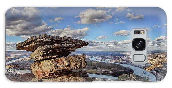 Umbrella Rock Overlooking Moccasin Bend Galaxy Case