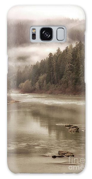 Umpqua River Fog Galaxy Case