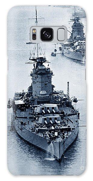Hms Nelson And Hms Rodney Battleships And Battlecruisers Hms Hood Circa 1941 Galaxy Case